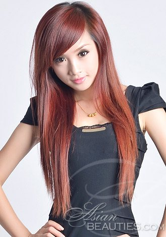 red asian hair
